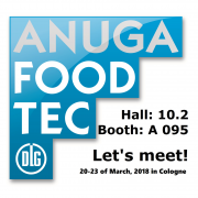 Susitikime Anugoje jau kovo 20-23 dienomis / Let's meet at Anuga FoodTec, Cologne on 20-23 of March!