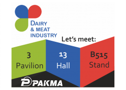 Pakma at Dairy and Meat Industry, Moscow